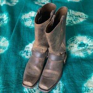 Gorgeous Frye Harness Boot